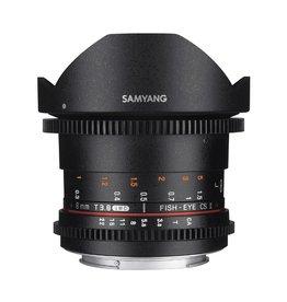 Samyang 8mm T3.8 UMC Fish-eye VDSLR CSII