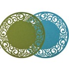 Finnmari Placemat Felt Turquoise