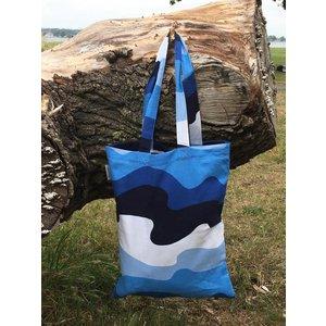 Finlayson TOTE BAG AALTO BLUE 36X42