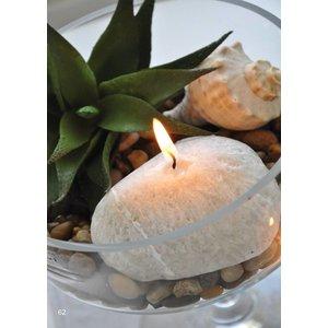 Finnmari Stone Candles 3set 22 x 10cm