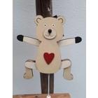 Wooden Bear (10x45cm)