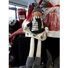 The Christmas Elf Girl (26cm) - Grey