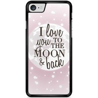 hoesje - I love you to the moon and back