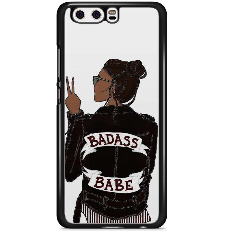 Huawei P10 hoesje - Badass girl
