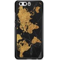 Huawei P10 hoesje - Wereldmap