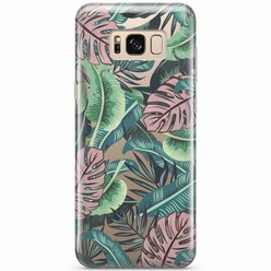 Samsung Galaxy S8 transparant hoesje - Jungle