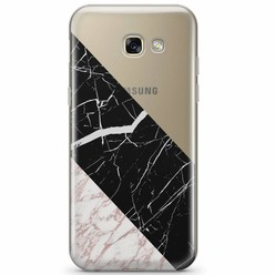Samsung Galaxy A3 2017 transparant hoesje - Marblous