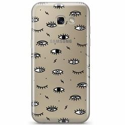 Samsung Galaxy A3 2017 transparant hoesje - Eye see you