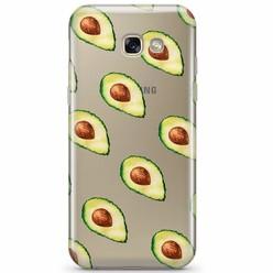 Samsung Galaxy A5 2017 transparant hoesje - Avocado