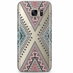 Samsung Galaxy S7 transparant hoesje - Desert dream