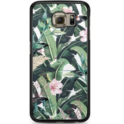 Samsung Galaxy S6 hoesje - Tropical banana