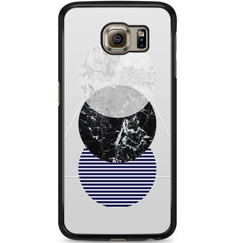 Samsung Galaxy S6 hoesje - Marble twist