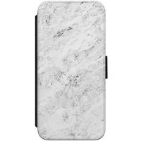 iPhone 8 / 7 flipcase hoesje - Marmer grijs