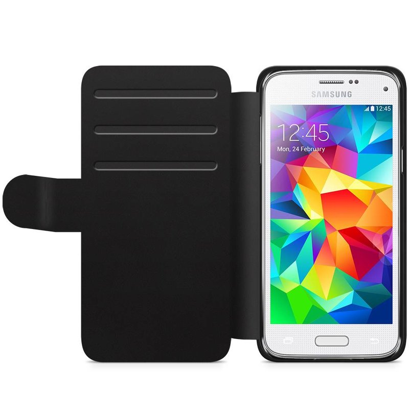 Samsung Galaxy S5 Mini flipcase hoesje - Line it up