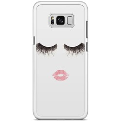 Samsung Galaxy S8 Plus hoesje - Fashion eyelashes