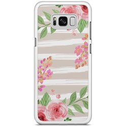 Samsung Galaxy S8 Plus hoesje - Blush pink rose