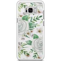 Samsung Galaxy S8 Plus hoesje - lovely flora