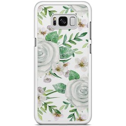 Samsung Galaxy S8 Plus hoesje - lovely flora