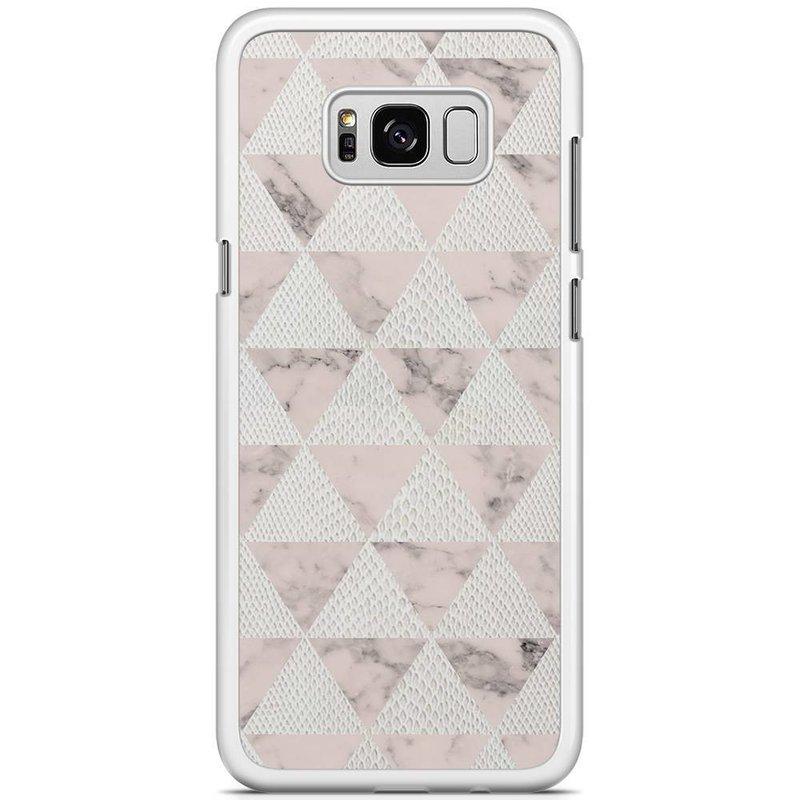 Samsung Galaxy S8 Plus hoesje - Triangle snake