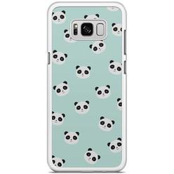 Samsung Galaxy S8 Plus hoesje - Panda's