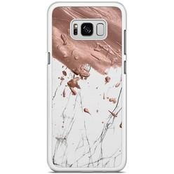 Samsung Galaxy S8 Plus hoesje - Marble splash
