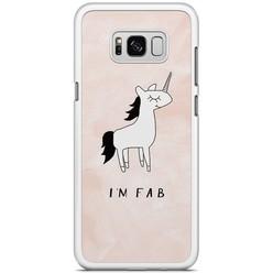 Samsung Galaxy S8 Plus hoesje - I'm fab