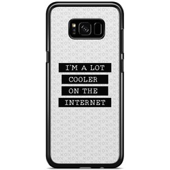Samsung Galaxy S8 Plus hoesje - Cooler on the internet