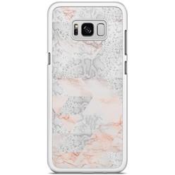 Samsung Galaxy S8 Plus hoesje - Snake art