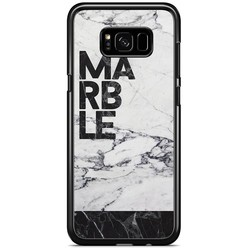 Samsung Galaxy S8 Plus hoesje - Marble is my name