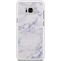 Samsung Galaxy S8 Plus hoesje - Parelmoer marmer