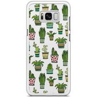 Samsung Galaxy S8 Plus hoesje - Cactussen