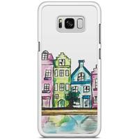 Samsung Galaxy S8 Plus hoesje - Tropical banana