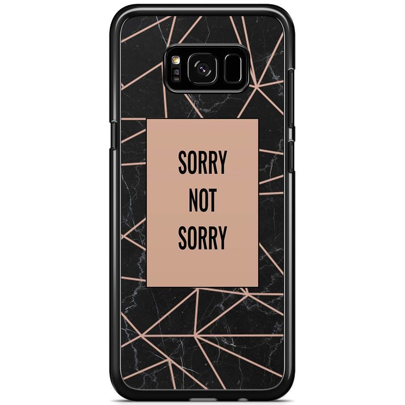 Samsung Galaxy S8 Plus hoesje - Sorry not sorry