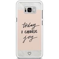 Samsung Galaxy S8 Plus hoesje - Choose joy