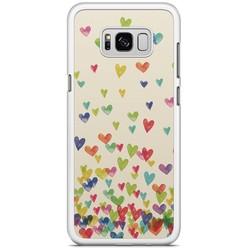 Samsung Galaxy S8 Plus hoesje - Hartjes