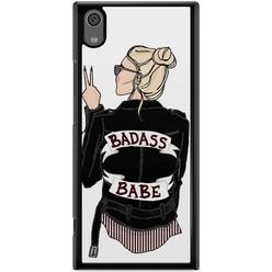 Casimoda Sony Xperia XA1 hoesje - Badass girl