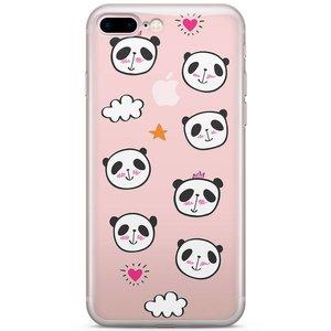 iPhone 7 Plus / iPhone 8 Plus hoesje - Panda