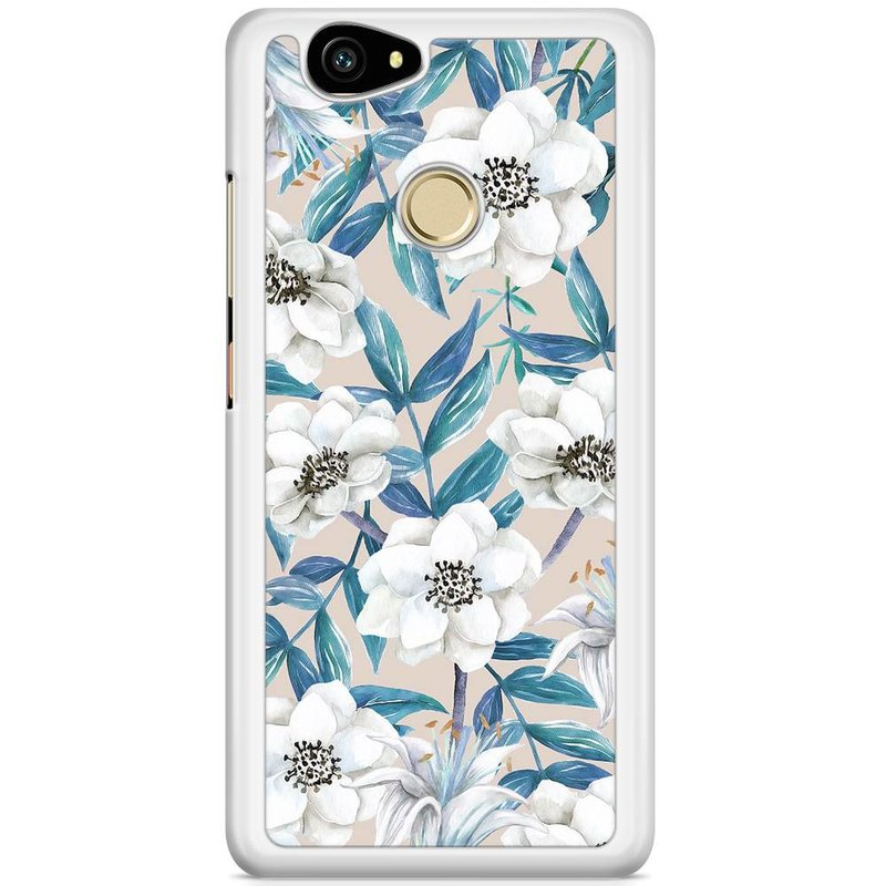Casimoda Huawei Nova hoesje - Touch of flowers