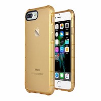 iPhone 7 Plus / iPhone 8 Plus schokbestendig hoesje - goud