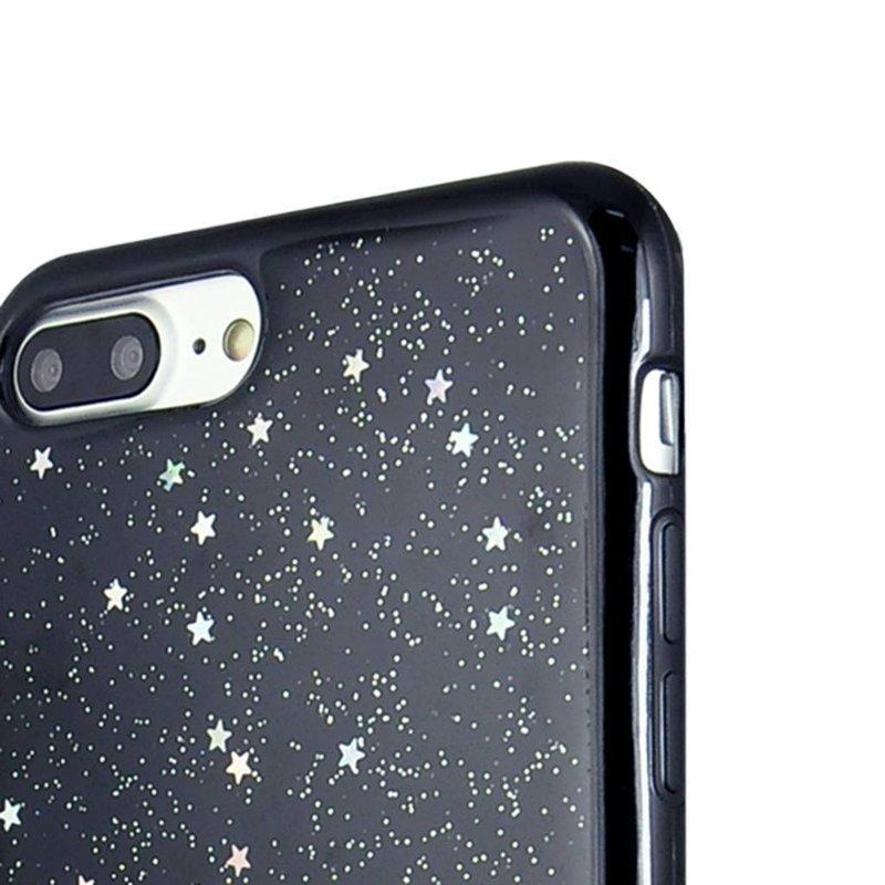 iPhone 7 Plus / iPhone 8 Plus zwart hoesje - Sweet stars
