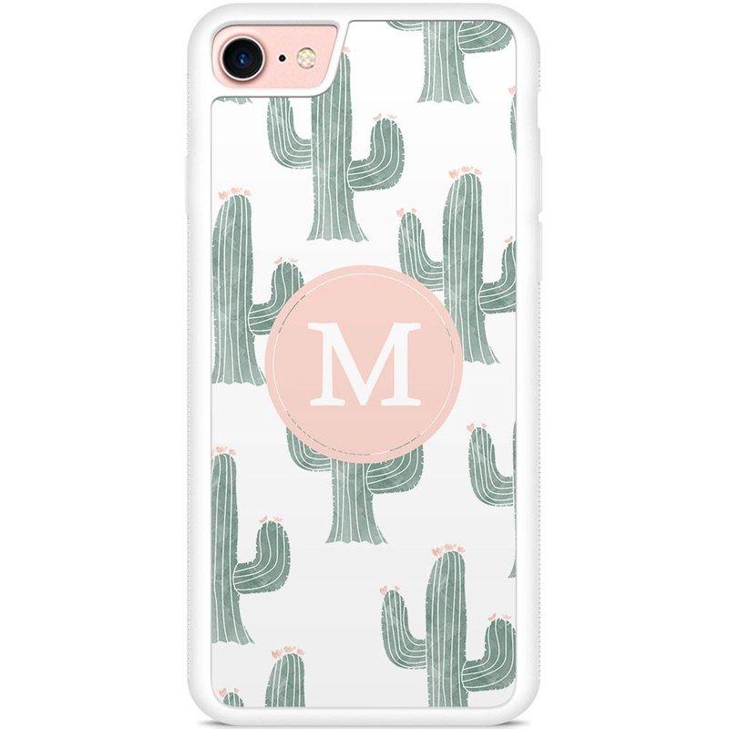 hoesje met letter - Cactus