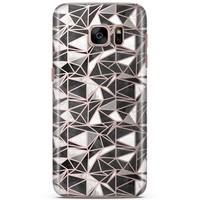 Samsung Galaxy S7 siliconen hoesje - Black stone