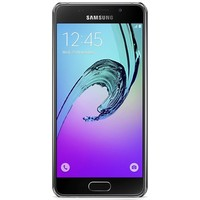 Samsung Galaxy A3 2016 hoesje - Rose gold snake