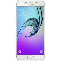 Samsung Galaxy A3 2016 hoesje - Minty marmer collage