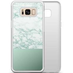 Samsung Galaxy S8 hoesje - Minty marble