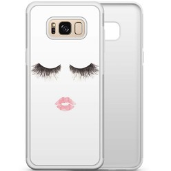 Samsung Galaxy S8 hoesje - Fashion eyelashes