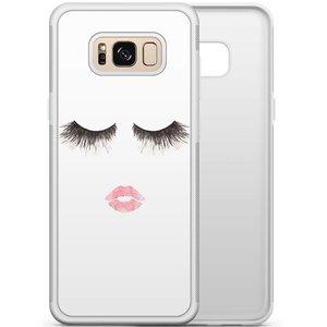 Samsung Galaxy S8 hoesje - Fashion eyelashes