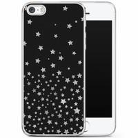 Casimoda iPhone 5/5S/SE siliconen hoesje - Falling stars