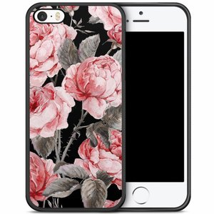 iPhone 5/5S/SE hoesje - Moody florals