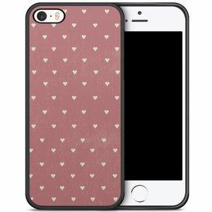 iPhone 5/5S/SE hoesje - Vintage hart